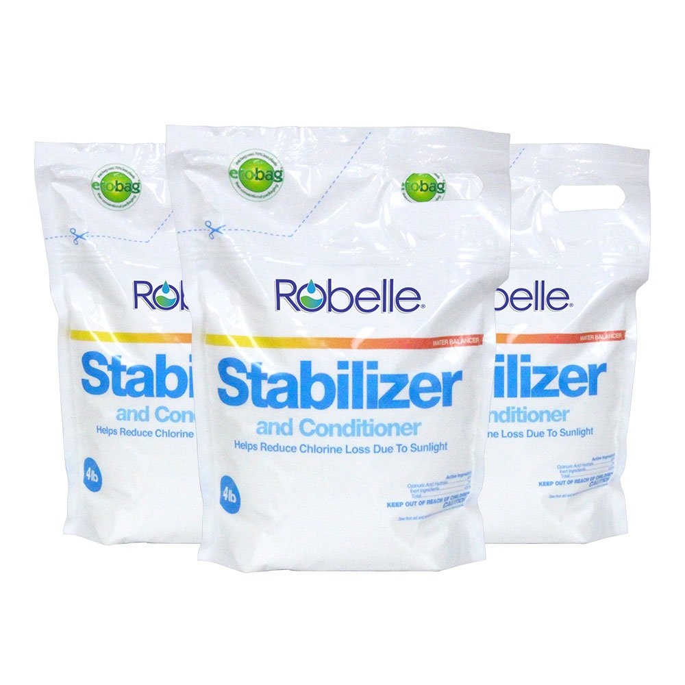 Robelle 2604B-03 Stabilizer for Swimming Pools, 12 lb by Robelle