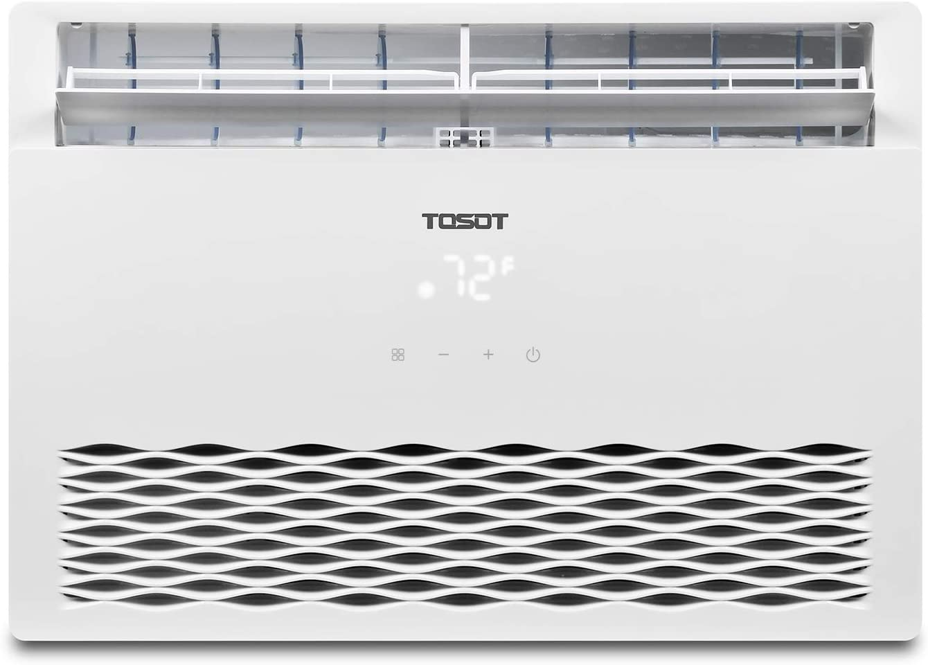 TOSOT 10,000 BTU Window Air Conditioner - 2019 Model, Energy Star, Modern Design, and Temperature-Sensing Remote - Window AC for Bedroom, Living Room, and attics up to 450 sq. ft.