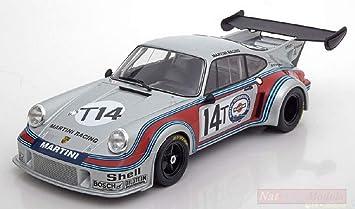 NOREV NV187426 Porsche 911 RSR Turbo N.T14 SPA 1974 Muller-Van LENNEP 1