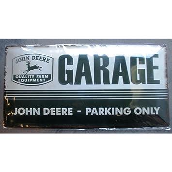 Unbekannt U2013 Platte LOGO John Deere Garage Relief 50 Cm Kabelrinnen Pub Zeigt