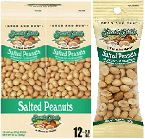 Grab & Go Salted Peanuts 2 oz./12 ct., Salty Snacks