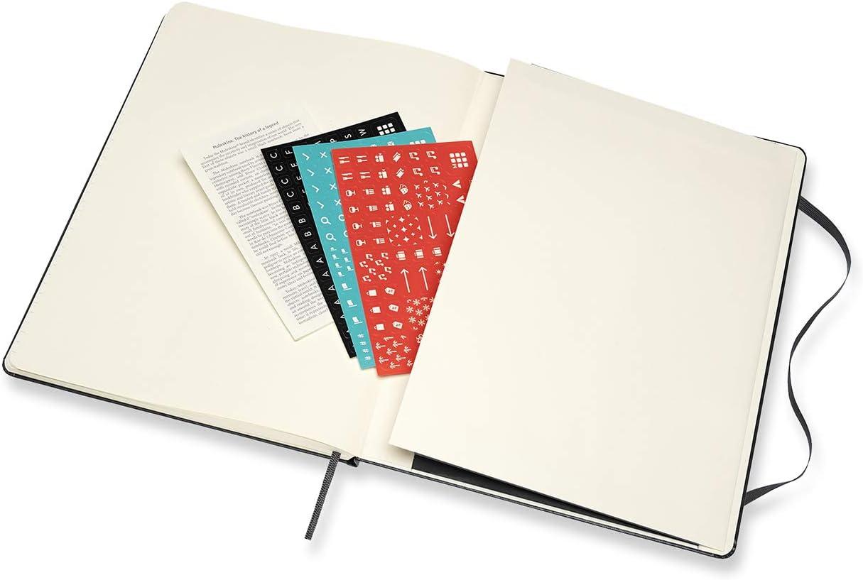 Format Gro/β 13 x 21 cm Moleskine Wochenplaner 2021 Wochenplaner und Notizbuch 144 Seiten 12 Monate Wochenkalender Farbe Schwarz fester Einband