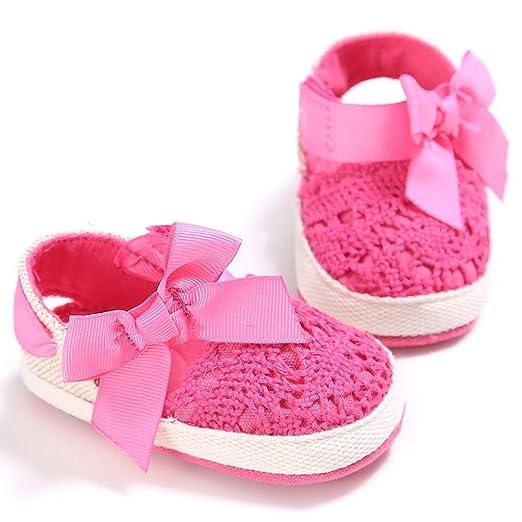 24041a27bdfd5 Amazon.com: Horoshop Baby Girls Shoes Infant Toddler Princess ...