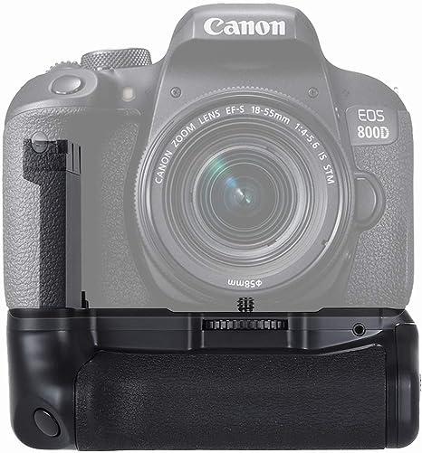 PULUZ - Empuñadura de batería para cámara Canon EOS 800D, Rebel ...
