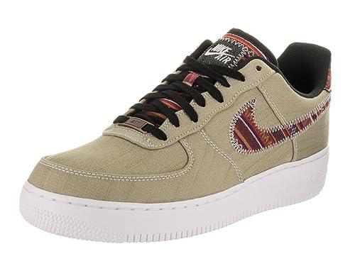 best website 2d679 67ea3 Zapatillas de baloncesto Nike Air Force 1  07 LV8 color caqui   negro,  blanco