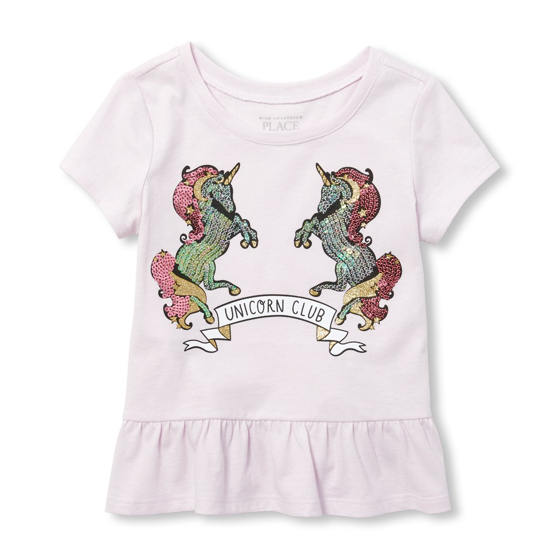 The Children's Place Baby Girls Short Sleeve Peplum Top The Children' s Place 2108838