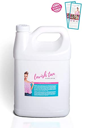 Best Organic Airbrush Spray Tan Solution – 128oz