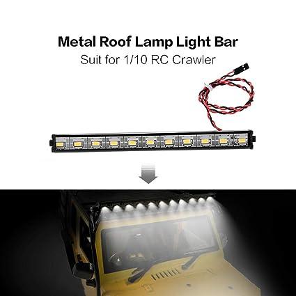 Amazon.com: LtrottedJ Metal Roof Lamp LED 150mm Light Bar ...