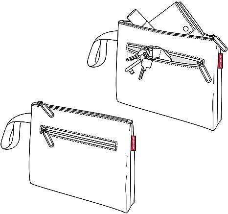 reisenthel case 1 Handtasche Tasche Kosmetiktasche Täschchen Mixed Dots 24 cm