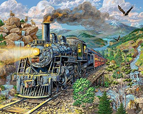 1000 piece train puzzles - 9
