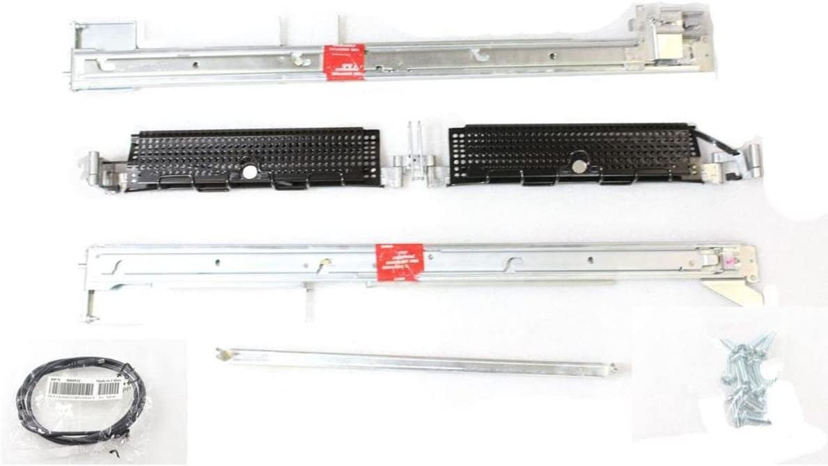 Dell PowerEdge Server PowerVault V114T PowerEdge 2550 2650 2U RCKRL Mounting Rail Kit JJ018 9K512 1P988 8Y106 G4077 HH932 U4465 U4466