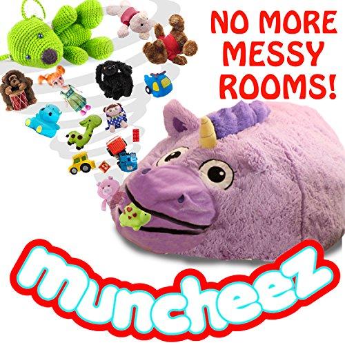 Muncheez Unicorn Stuffed Animal & Coolest Toy Organizer For Children - Plush & Cuddly Toy Storage Solution For Kids
