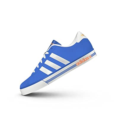 quality design 42c5e 64dde Adidas Mens Trainers Neo Daily Team Suede Blue White UK Size 10 EU 44.5  New  Amazon.co.uk  Shoes   Bags