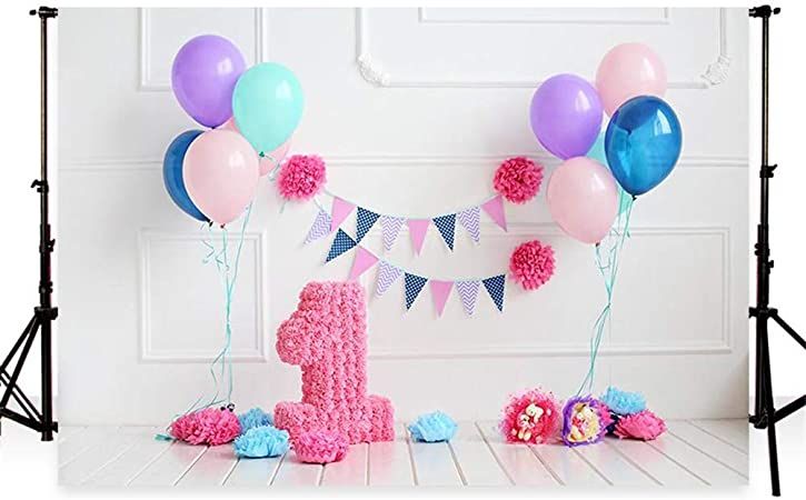 Waw Fotohintergrund 1st Geburtstag Cake Smash Party Kamera