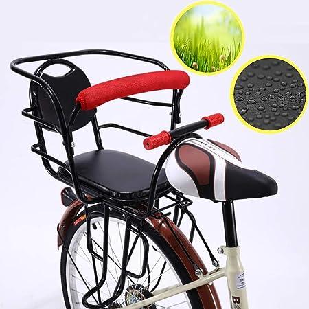 FHGH Silla Bicicleta NiñO,Asiento Trasero De Bicicleta Asiento ...