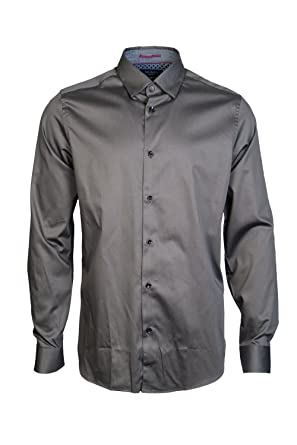 8ddbca25a Ted Baker Men Casual Shirt TA7M GA22 MARSAY Size M Green  Amazon.co.uk   Clothing