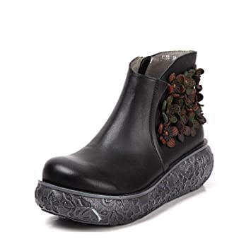 701d480c525d2 Amazon.com: YaXuan Women's Booties, Fashion Warm Snow Boots Winter ...