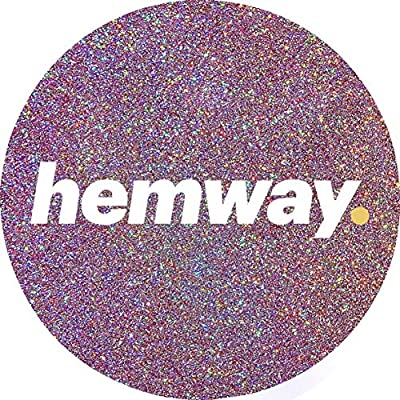 Hemway Premium Multi Purpose Glitter Dust Powder 100g/3.5oz Arts & Crafts Wine Glass Decoration Weddings Cards Flowers Cosmetic Face Eye Body Nails Skin Hair