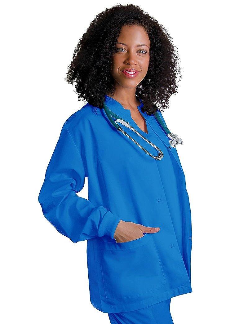 Adar Uniforms Giacca Camice da Donna, Giacca da Lavoro per Infermiere & Dottoresse - 602 Colore: REG | Dimensione: 4X 602REG4X