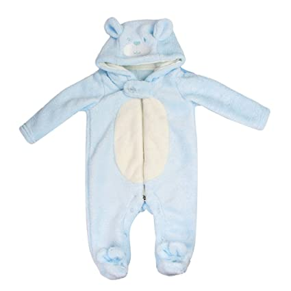 f19e63d064b9 Amazon.com  MagiDeal Comfortable Lovely Plush Bear Rompers Suit for ...
