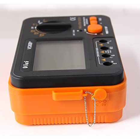 Pathson Vcb60 Digitaler Isolationswiderstand Tester Megohm Meter 1000 V 0 1 2000 MΩ Gewerbe Industrie Wissenschaft