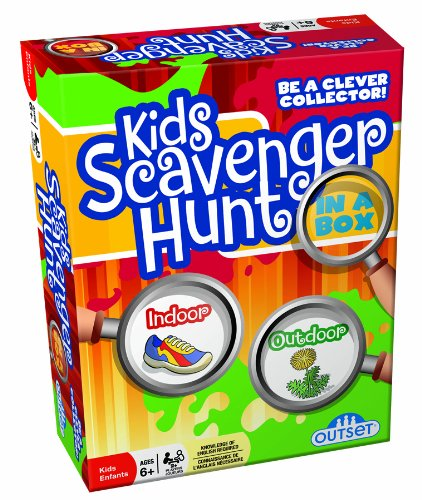Outdoor Scavenger Hunt Game makes fun camping activities kids love and adults will too to keep from being bored with fun camping ideas for kids