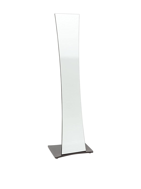 Wink design -  Los Angeles- Miroir de la Terre avec manteau en métal brun foncé