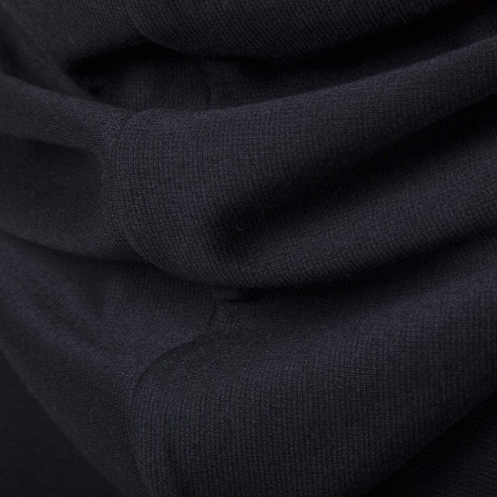 Cinnamou Chaqueta Cardigan con Capucha de Largo Hombres Irregulares Ropa de Hombre Abrigos Blusa Tops Casuales Outwear Tapes