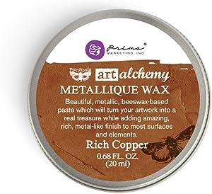 Prima Marketing Art Alchemy-Metallique Wax-Rich Copper