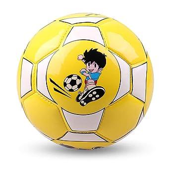 ZP270302 Footprintes Tamaño Oficial 2 Balón de fútbol de Cuero de ...
