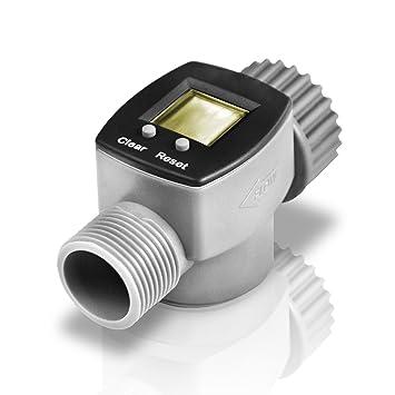 Amazoncom Digital Electronic Water Smart Flow Meter for Garden