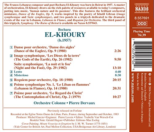El-Khoury: Requiem for Orchestra / Lebanon in Flames / The