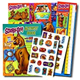Scooby Doo Coloring Book with Stickers, Poster, Growth Chart & Bonus Reward Sticker by Bendon Publishing