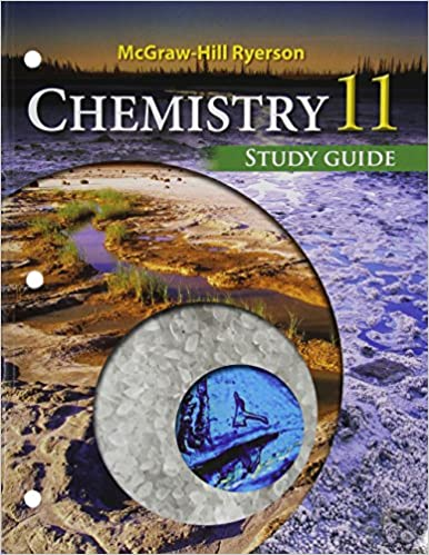 mcgraw hill ryerson chemistry 11 study guide