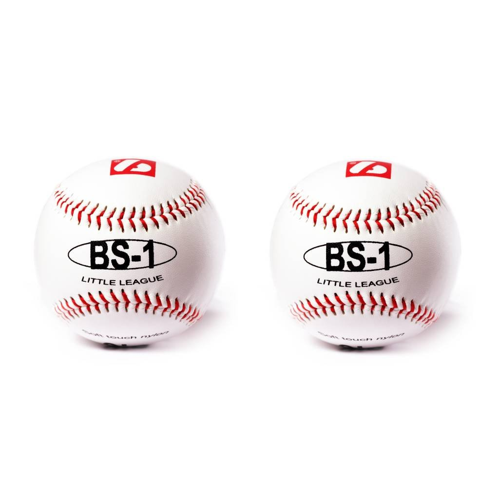 BS-1 Baseball Ball Anfänger Baseball, Softtouch, Grösse 9, 2 pcs