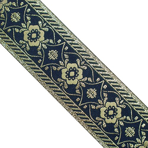 Metallic Jacquard Ribbon Trim (5 yards 1-1/2