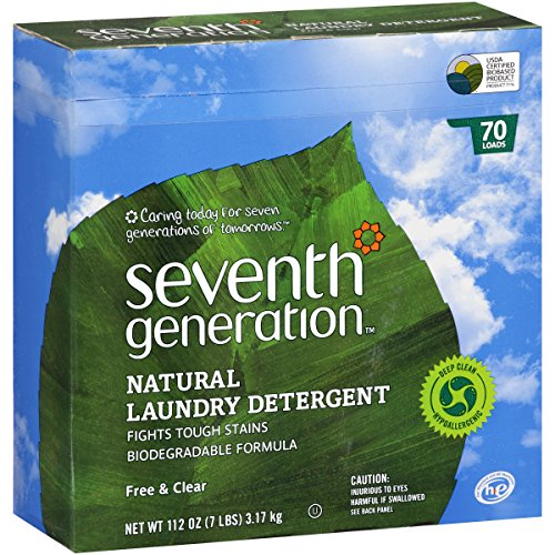 Seventh Generation Free & Clear Natural Laundry Detergent, 112 oz