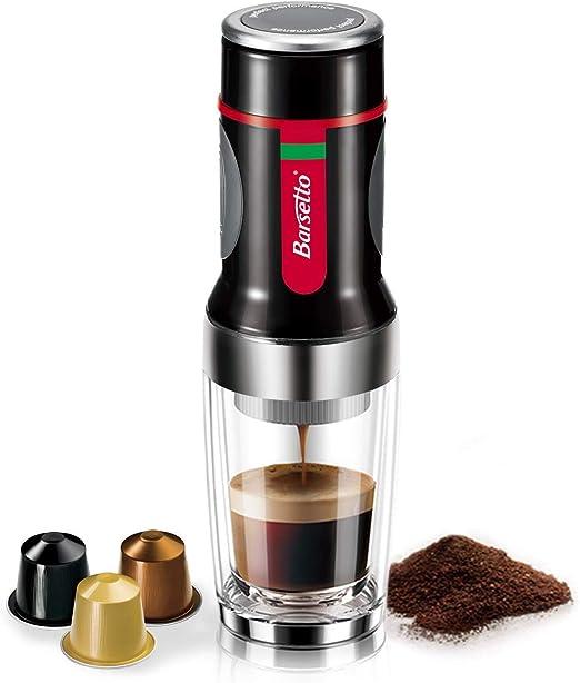 Amazon.com: Cafetera portátil barsetto cafetera americano ...