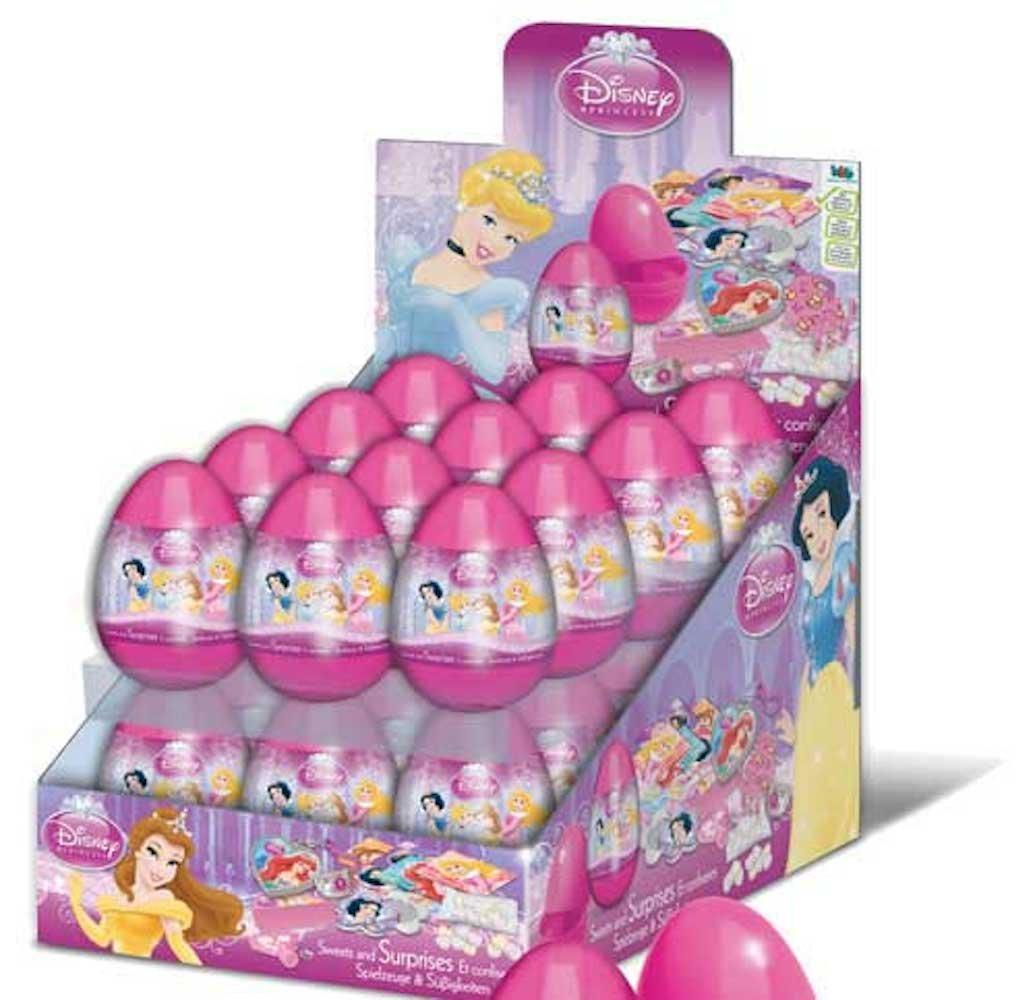 Amazon.com: Disney Princess Surprise Eggs - Loot Bag Fillers (5 ...