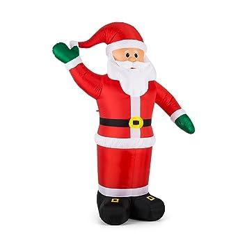 d6b3fb628a531 oneConcept Mr. Klaus • Santa Claus inflable • decoración navideña •  iluminación navideña • figura