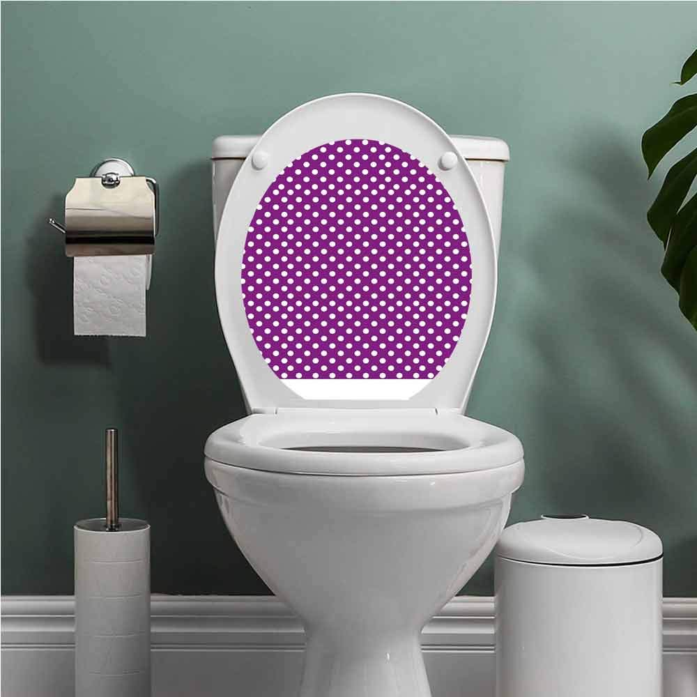 Super Amazon Com Scocici1588 Purple Modern Toilet Sticker Design Interior Design Ideas Gentotryabchikinfo