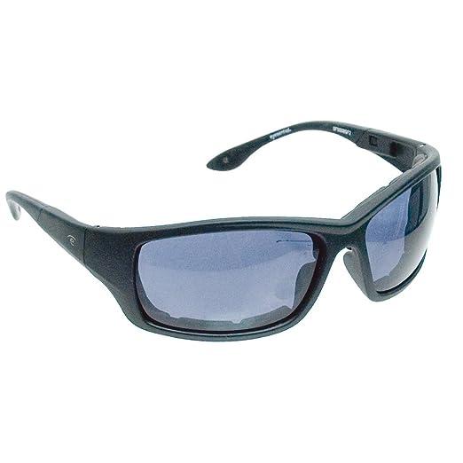 Eyesential Dry Eye Sunglasses - Medium Modified Rectangle- Black-Smoke