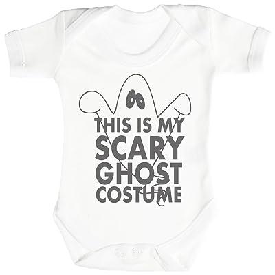 Baby Buddha Scary Ghost Costume Body bébé - Gilet bébé - 18-24 mois Blanc