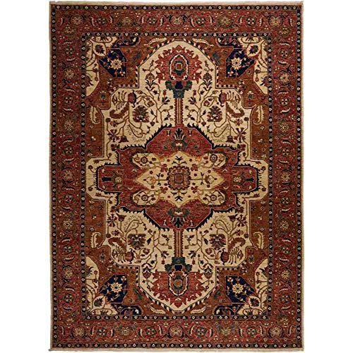 Rug Knotted Hand Stately - Solo Rugs Serapi Hand Knotted Area Rug 8' 0