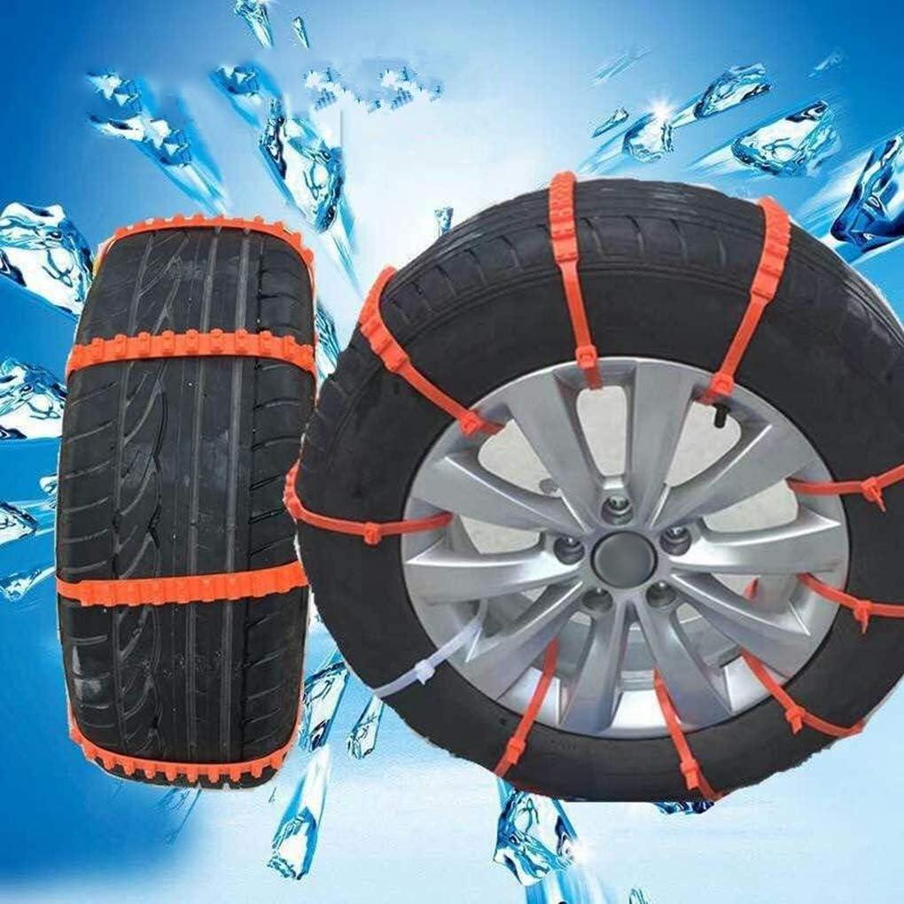 20pcs Nylon Universal-Autoreifen Schneeketten Rad Auto Winter-Anti-Rutsch-Abgrifffeste Anti-Blockier-System Nothandkette 10pcs