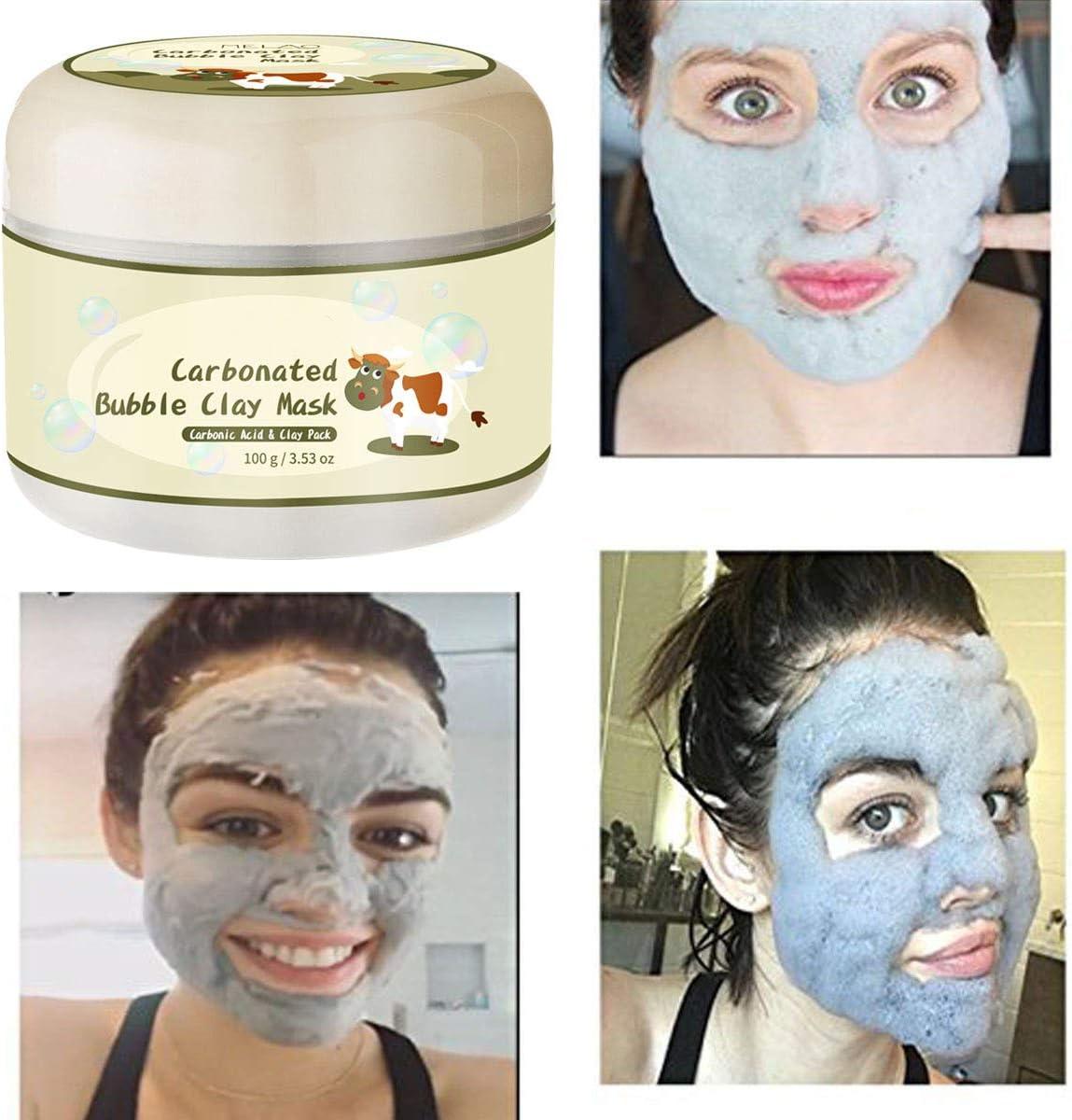 ZUZU Mascarilla Coreana carbonatada de Burbuja para la reparación Facial Mascarillas hidratantes Blanqueamiento Hidratante Cuidado Facial: Amazon.es: Deportes y aire libre