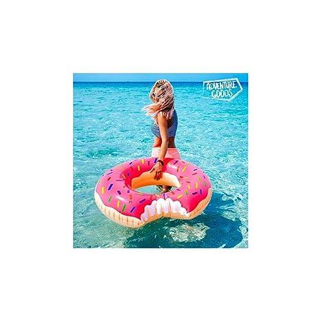 Adventure Goods - Flotador Hinchable Rosquilla Rosa ...