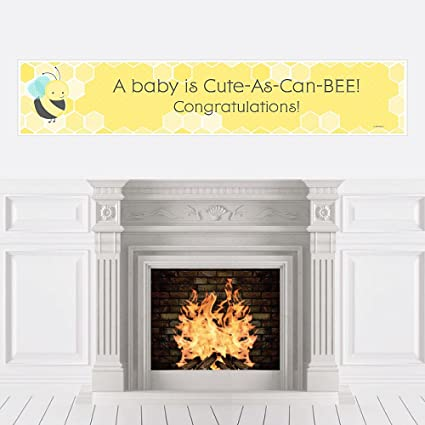 Amazon Honey Bee Baby Shower Decorations Party Banner Toys