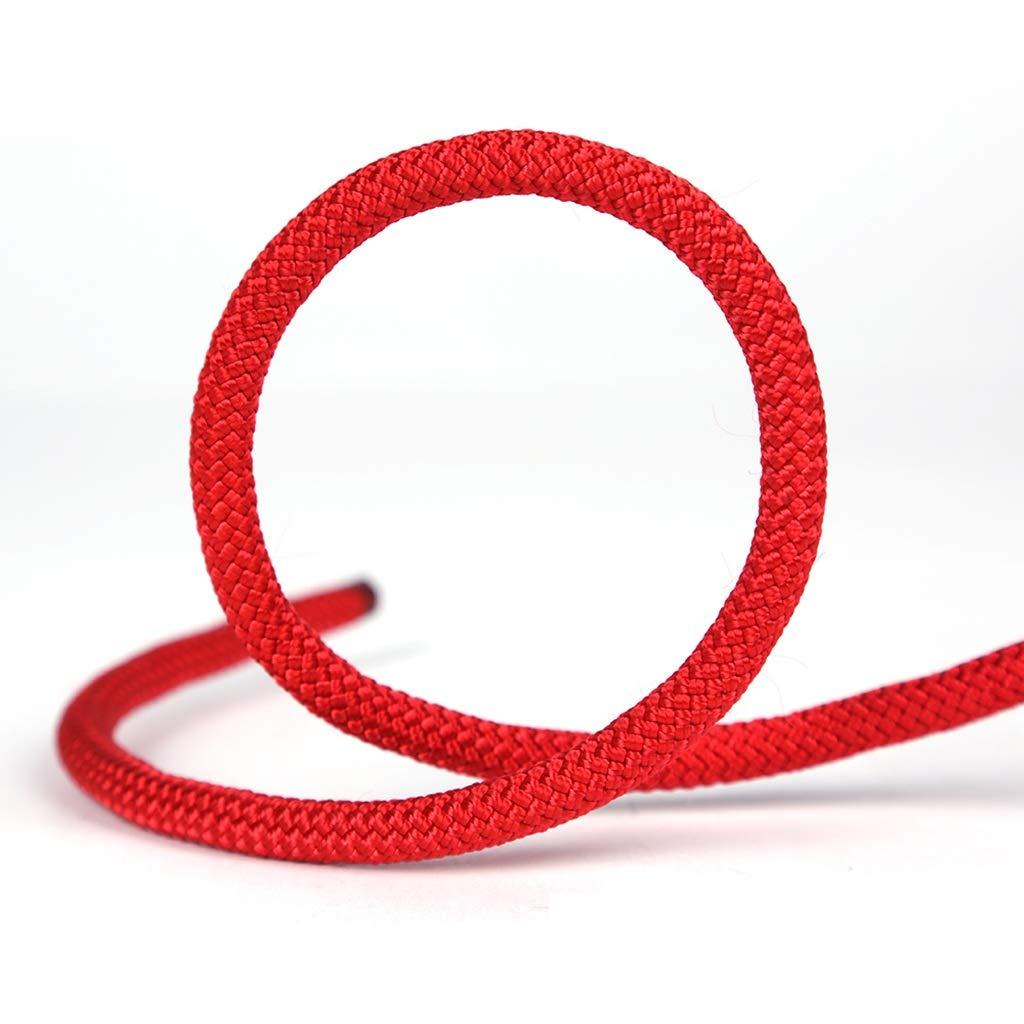 TLMYDD クライミングロープ、スタティックロープ、ライフライン、スピードドロップロープクライミング、補助ロープ 色オプション ロープ (Color : D, Size : 6mm 50m) 6mm 50m D B07STDVQ5V