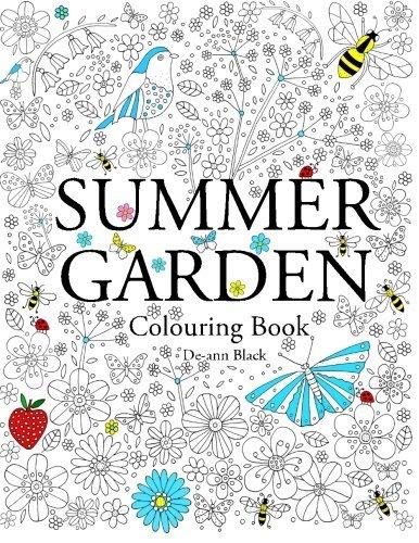 Summer Garden Colouring Book By De Ann Black 2015 09 07